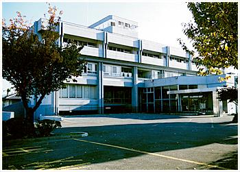 桐生准看護学校の校舎